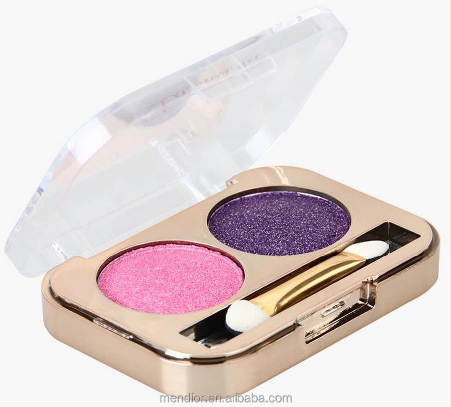Mendior Double colours eyeshadow the earth color & retro color eye shadow manufacturer direct selling colour makeup wholesale
