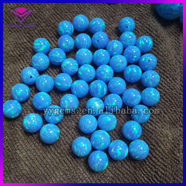 wholesales synthetic blue opal beads 3mm 4mm 5mm