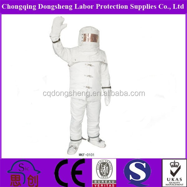 Aluminized Fireproofing Chemical Protective Clothing Fire Entry ...