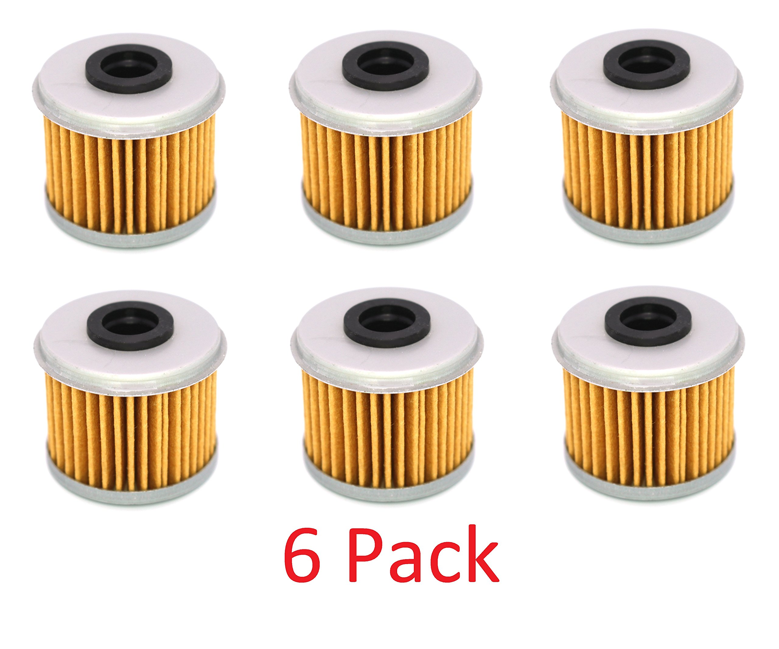 Get Quotations · Honda CRF150R CRF150RB CRF250R CRF450R CRF250X CRF450X Oil  Filter Filters 116 (6) pack