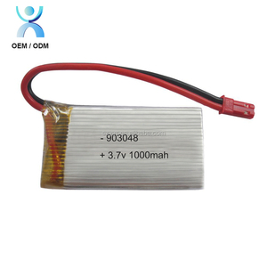 2017 hot high rate lipo 20c battery 3.7v rc helicopter battery 1000mah 903048