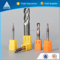 cnc solid carbide down cut spiral flute woodworking or glass cutting router bits