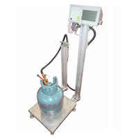 liquified gas water oil alcohol bottle keg barrel drum pump filler/ co2 oxygen gas weighing weight LPG cylinder filler
