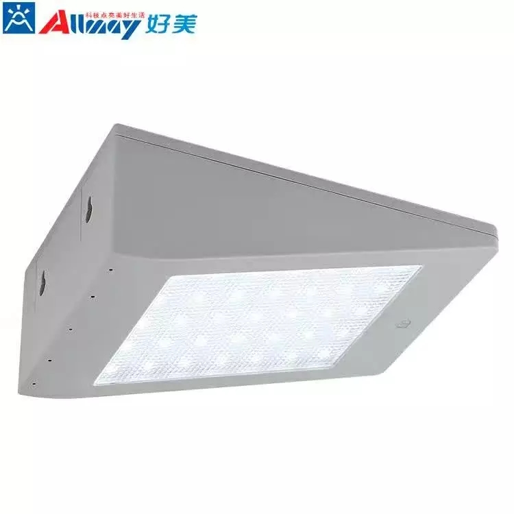 LED Solar Powered Motion Sensor Security Outdoor Light 3.5W High lumen solar light with integrated motion sensor