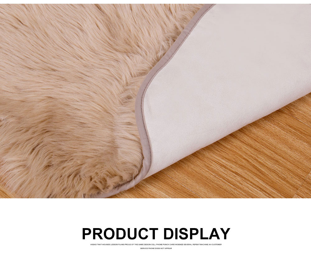Rownfur wholesale modern cushions Australian 1P 100%  Sheepskin carpet fur rug area kids rugs for living room