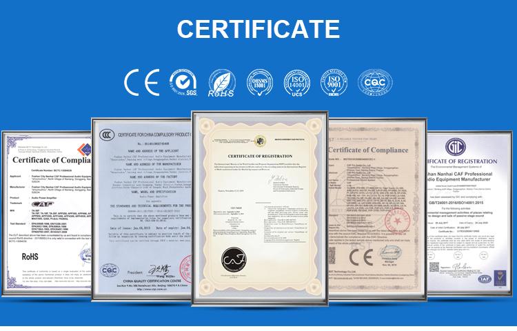 Chine fabrication Active mini ligne tableau speakerTA-2610 système audio professionnel