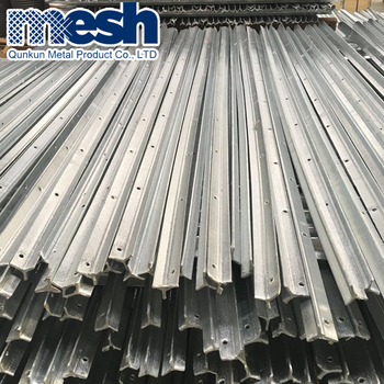 Cheap price Galvanized steel fence posts