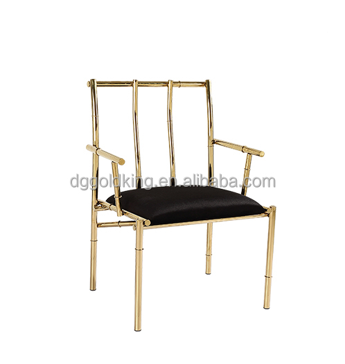 Good design style dining chair used dining home metal chair