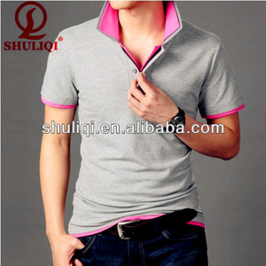OEM polo formal t shirt no logo day man polo cotton / spandex 200/220 gsm