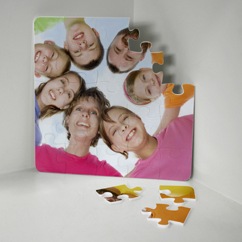 Blank Plastic Jigsaw Puzzle for Sublimation Printing