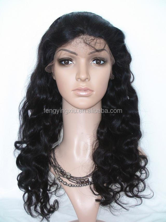wholesale cheap brazilian virgin human hair wig, black women brazilian hair full lace wig, wig