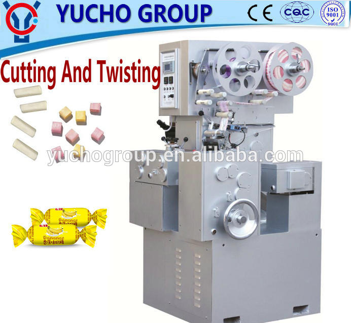 China Big Factory Good Price Automatic Toffee Candy Cut Double Twist Packing Machinery