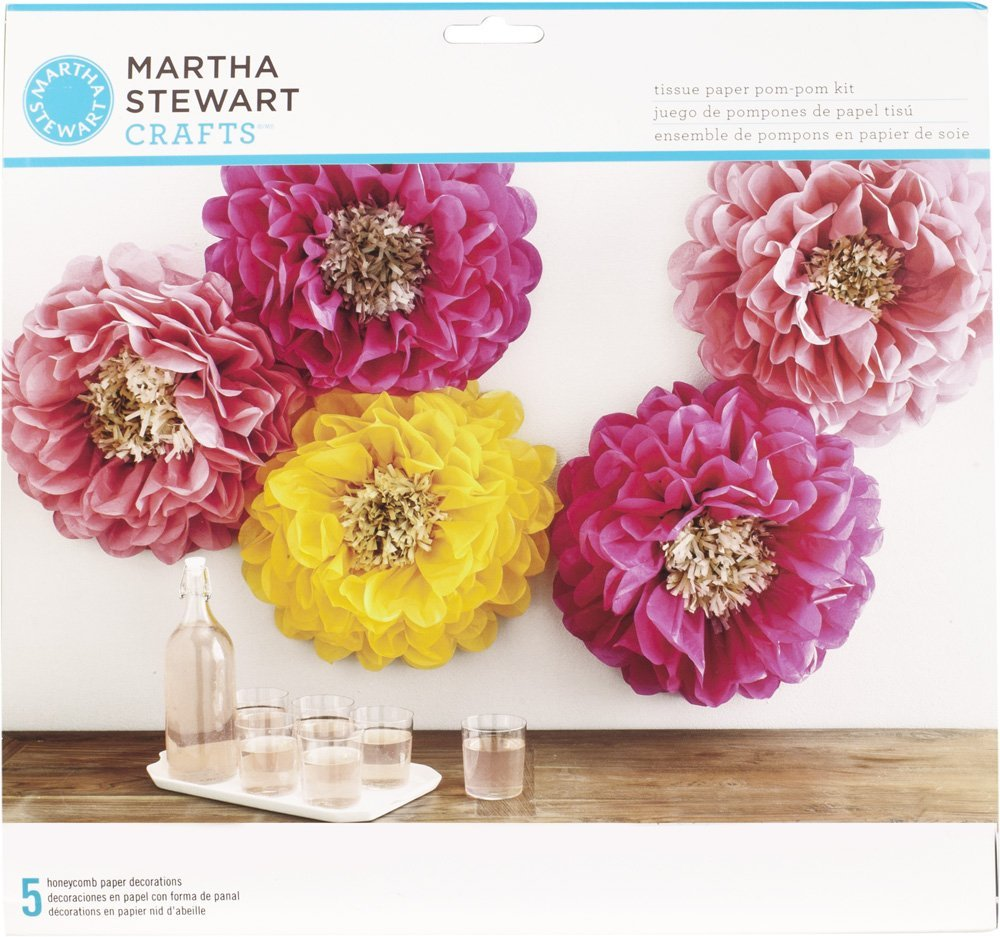 Tissue Paper Flower Craft Kit Kordurorddiner