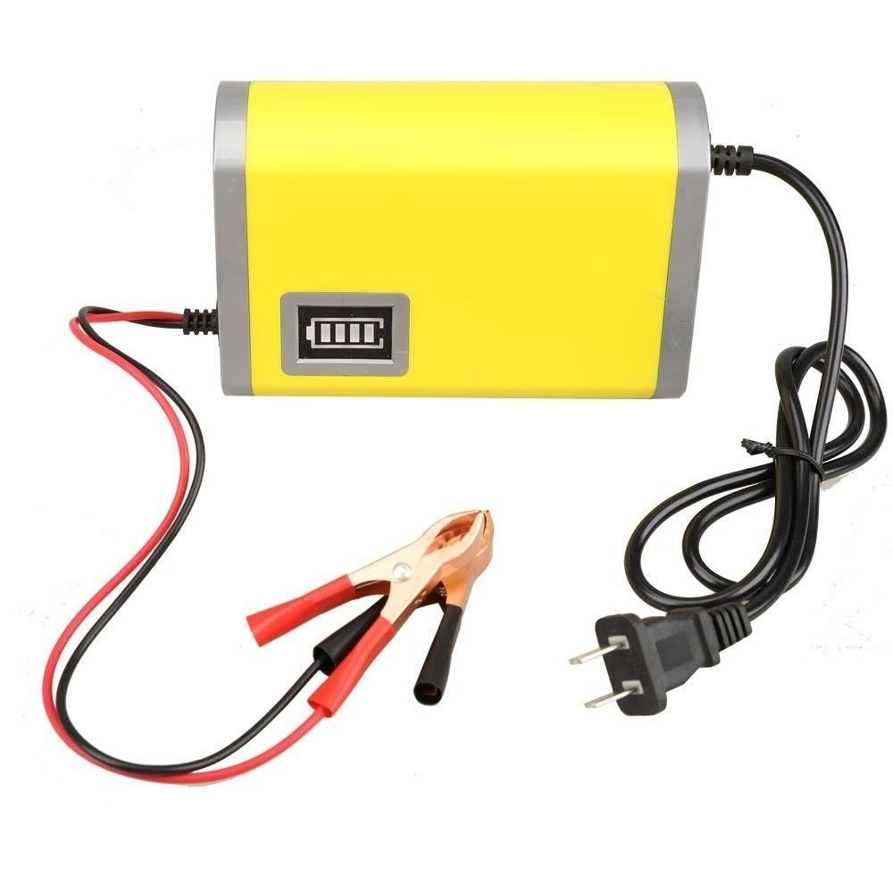 Cheap Automatic Battery Charger 50a 22v To 12v Find Circuit Desulfator Kit With Auto Cut Off Get Quotations Farmunion 6a Car Motorcycle Smart Maintainer Yellow