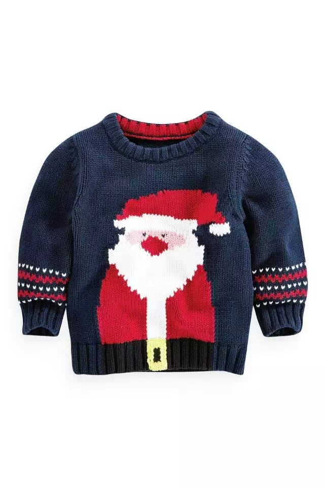 get quotations rocoo wholesale next girls sweater 6 boy winter cotton santa claus t shirt jacquard