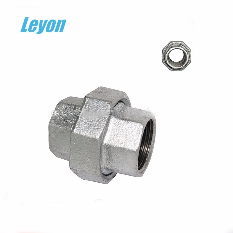male/female threaded union pipe fittings 90 degree square tube elbow