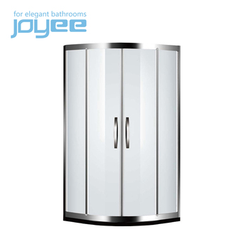 JOYEE quality enclosures shower door plastic parts temporary glass shower door