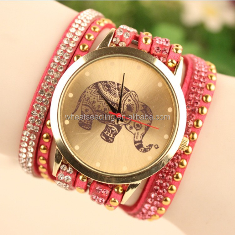 2015 Elephant Bohemia Stlye New Design Fashion Girls Watch - Buy ...