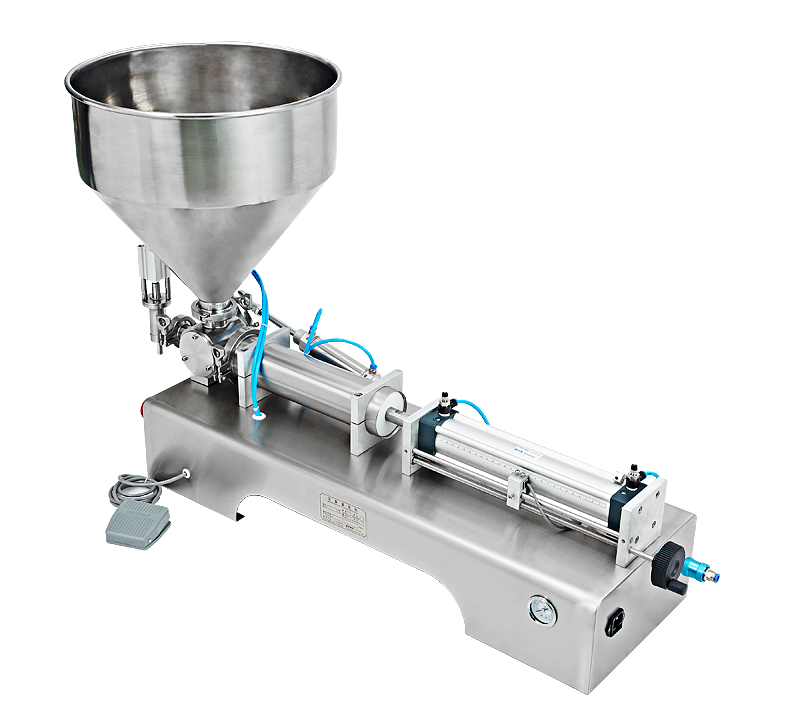 Hot selling semi-automatic paste filling machine price