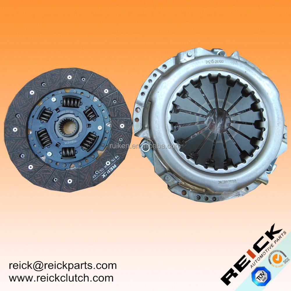 For TOYOTA HIACE CROWN TACOMA SUPRA DYNA Clutch Kit 31210-26100 Clutch Disc 31250-28100 Clutch Cover Pressure Plate 31210-26100