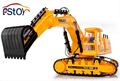 64cm Larger 8 CH Remote Control Excavator Construction Truck High powered Caterpillar Shovel Truck Model electronic