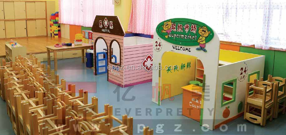 Daycare Classroom Furniture Mini SpongeBob Shaped Kids Toy Storage Cabinet