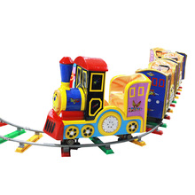 Amusement park children train rides for sale electric trackless kids train