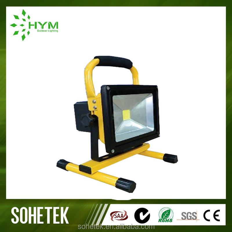 Cold white Rechargeable Outdoor Floodlight Project Lamp 50w Led Flood Light