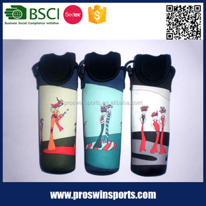 Simple innovative products neoprene spring bottle cooler