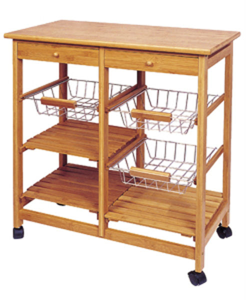 Cheap prices kitchen trolley cabinet / foldable kitchen trolley