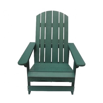 Adirondack Chair Hot Sale In North America Sgs Plastic Wood Chair