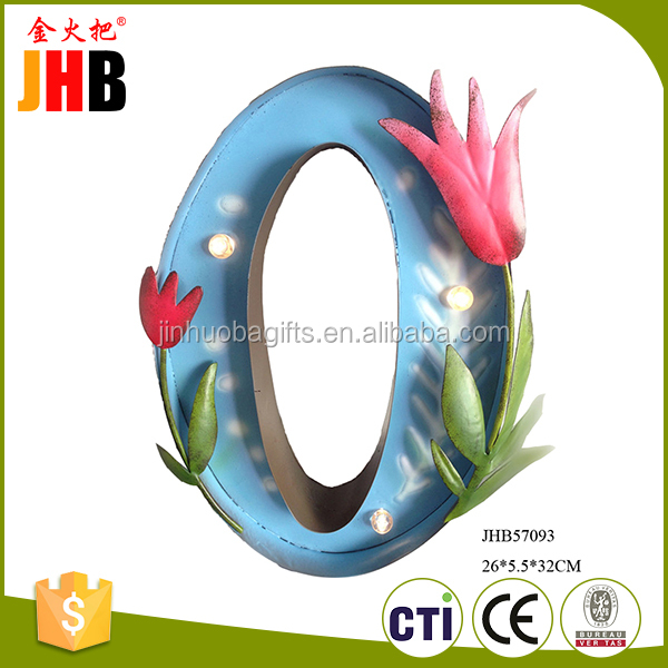 China supply delicate flower garden ornaments for home decration