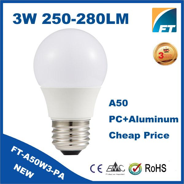 Led Residential Lighting Smd 2835 3 Watt 110v E27 Led Light Bulb ...