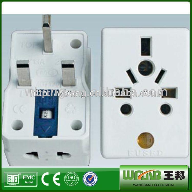 220v To 110v Plug 3 Pin Plug Adapter, 220v To 110v Plug 3 Pin Plug ...