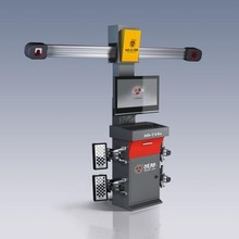 BATTLE-AXE 3D-718S 2pcs 5 mega Pixel cameras excellent repeatability 3D wheel and tyre alignment machine