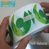 Printing Paper Sticker Custom Made In Rolls, Self Adhesive Roll Paper Sticker