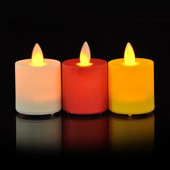 Chinese Battery Ed Moving Flameless Led Tea Light Wedding Candles