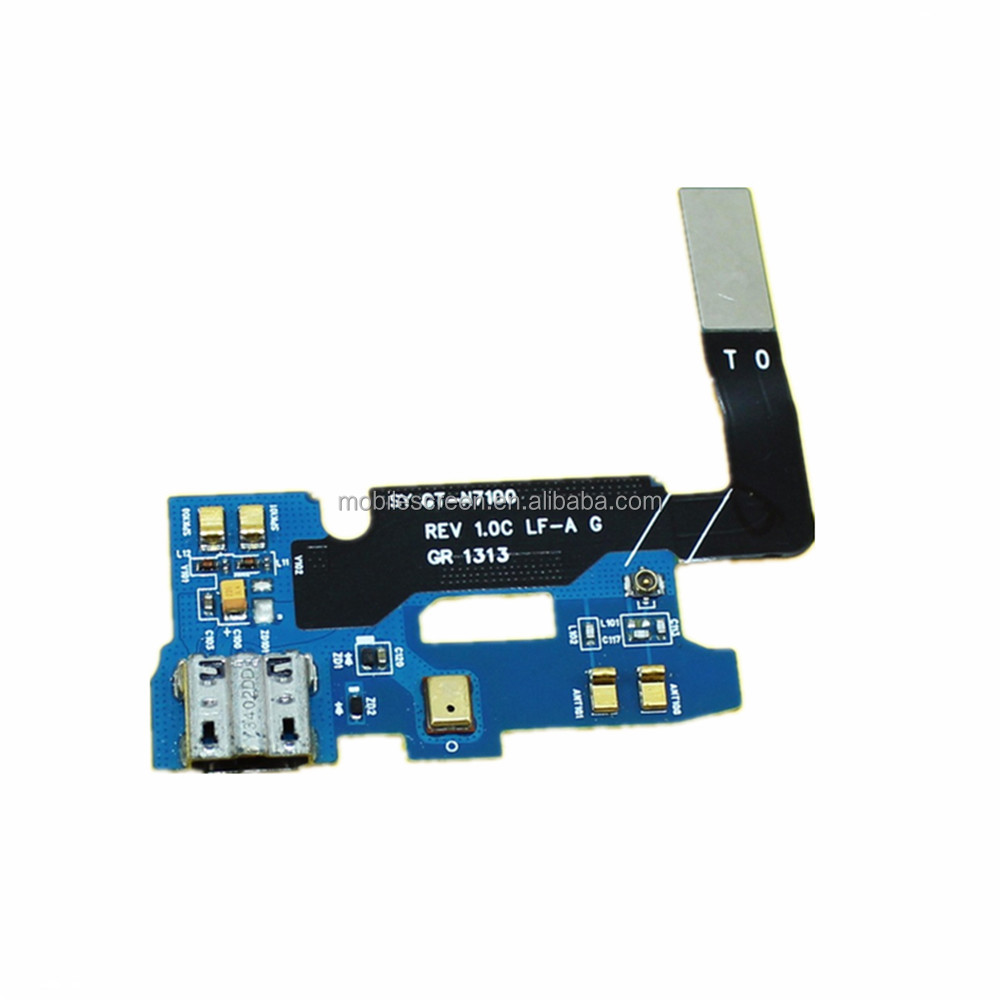 Cho Samsung Galaxy Note 2 Dock Connector Sạc Cảng Flex Cable Cho Samsung Galaxy Note 2
