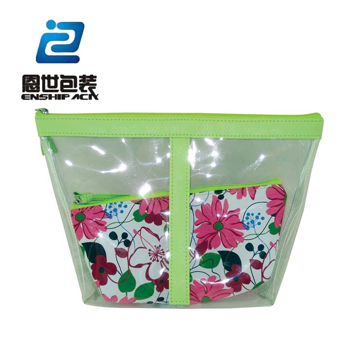 make up plastic pvc bag for packing cosmetic