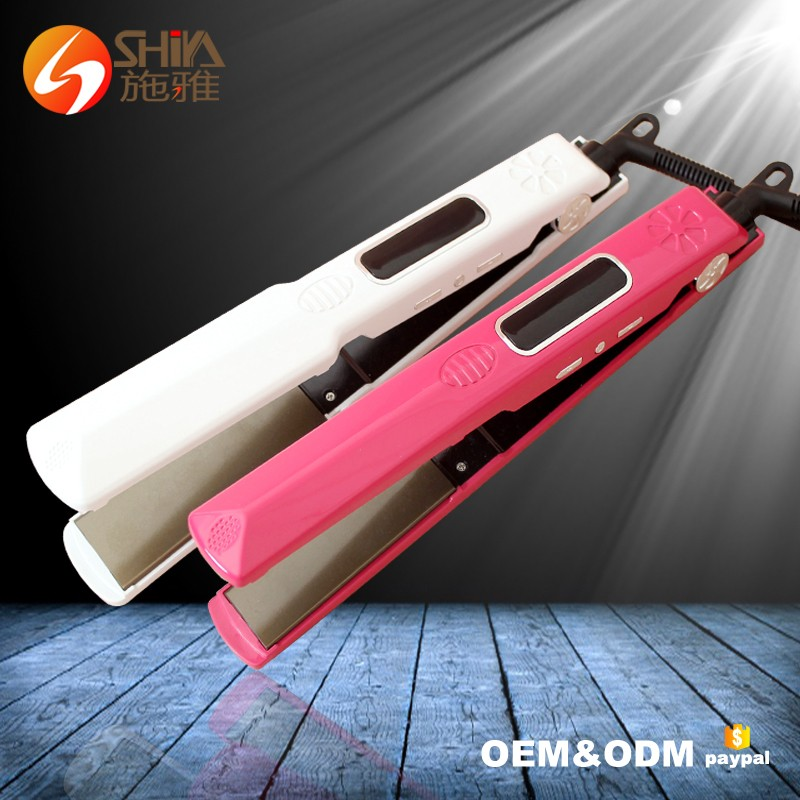 2016 New Product Buy Bella No Heat Plate Ceramic Straightening Coating Heater Hair Straightener Beauty Salon As Seen On Tv