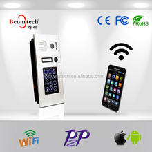 Bcomtech android/iphone wifi video door bell IP intercom for smart home