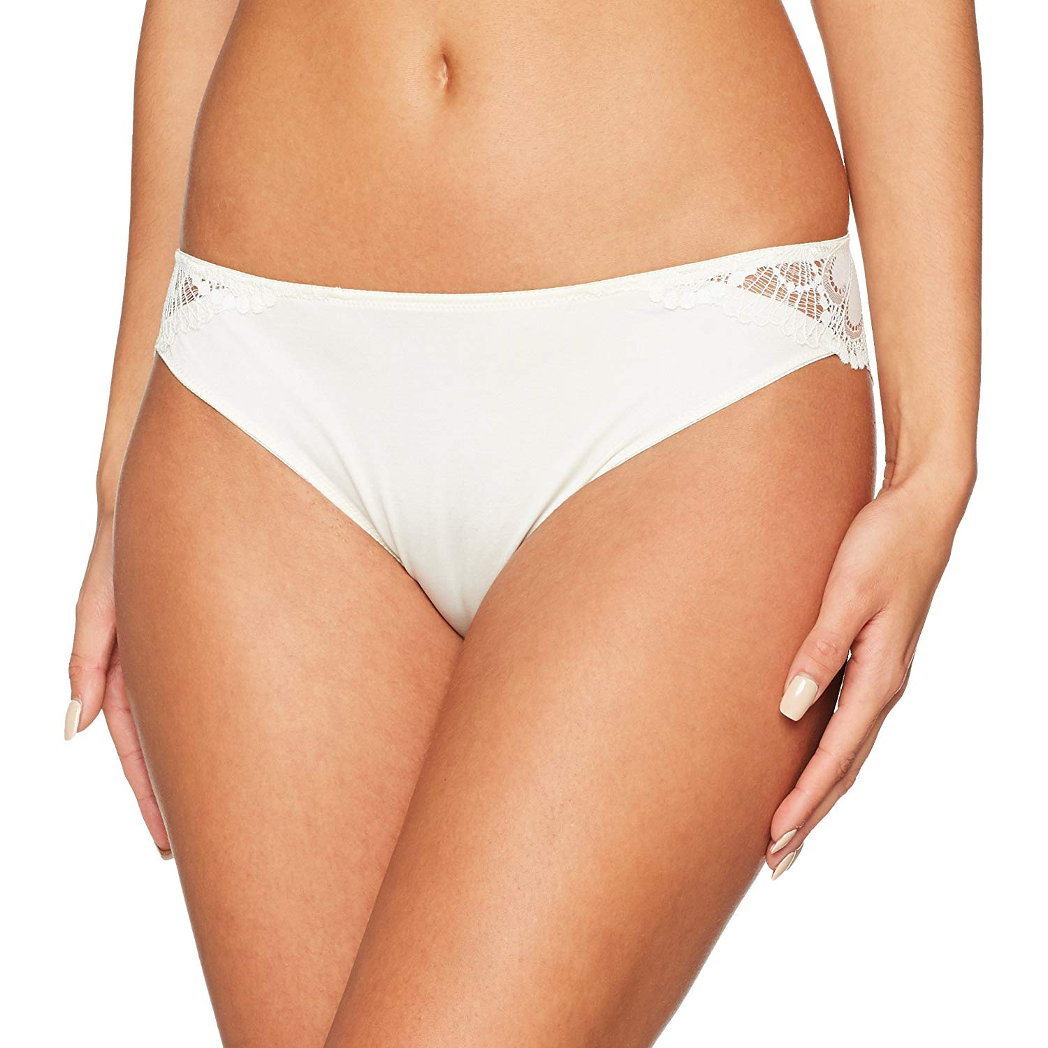 fe7e3a5888 Get Quotations · Wonderbra Refined Glamour W05GE Lace Brazilian Brief Ivory