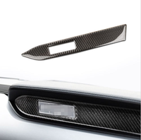 Auto Styling Sticker Center Console Control Panel Carbon Fiber Decor Sticker For Ford Mustang Accessories