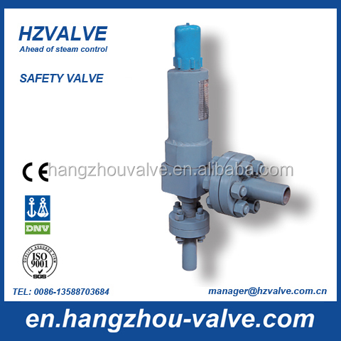High pressure water heater safety relief valve