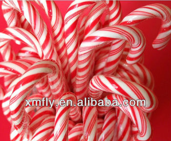 bulk individual pack sweet elbow hard candy christmas candy cane