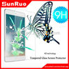 Smooth touch tempered glass screen protection film for Ipad Air Ipad Mini