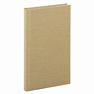 Boorum & Pease Handy Size 7 x 4 3/8 Inch 96-Page Bound Memo Book with Stiff Tan Cover (6559EE)