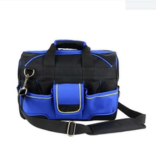 Heavy Duty Workpro Center Tray Electric Tools Sling Storage Bags Pack Wholesale Daily Use Foldable Electrical Tool Bag Jg-Djb41