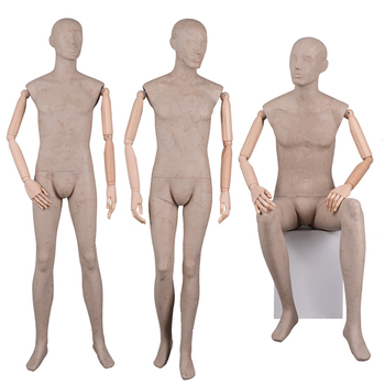 Full Body Fashion Dummy Display Seated Standing Adjustable Cheap