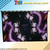 High Quality Folding Led Display/LED Video curtain p10 indoor/outdoor rental